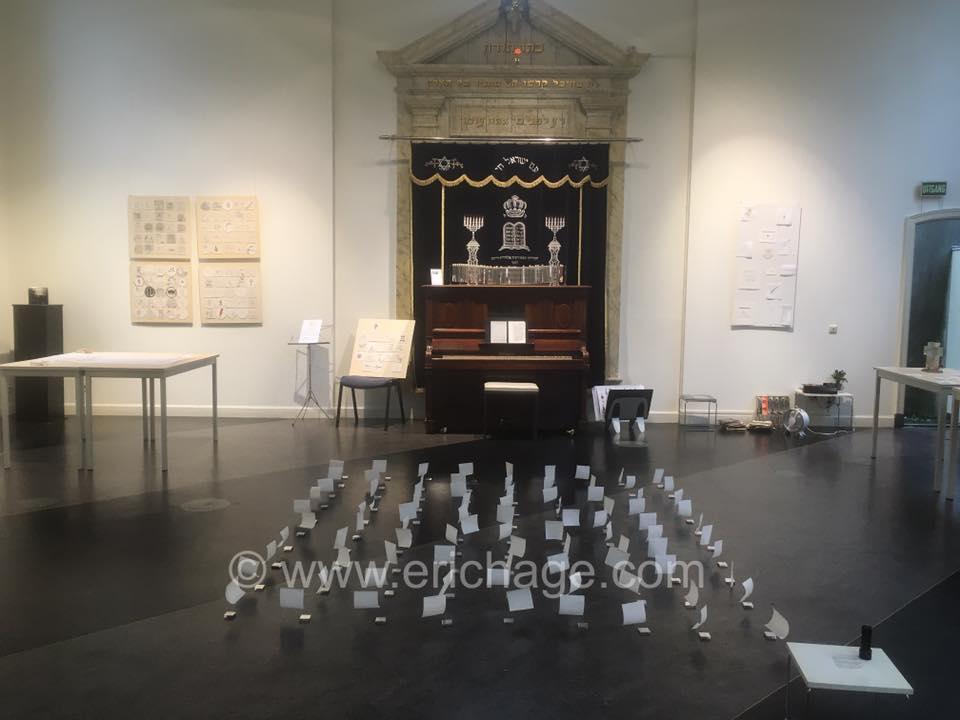 'Sea of Sorrow' in Synagoge Weesp