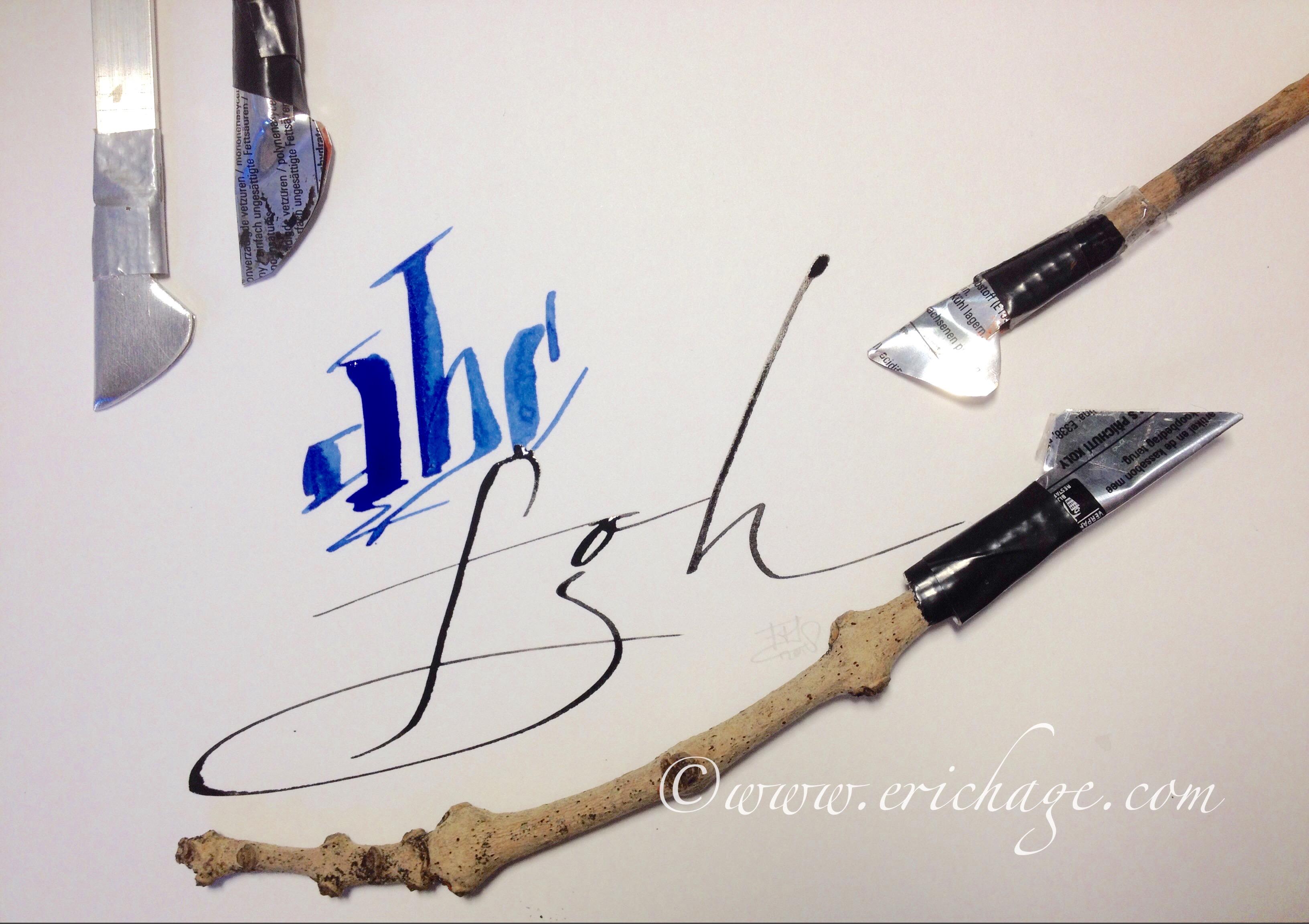 Kalligraferen met de Colapen