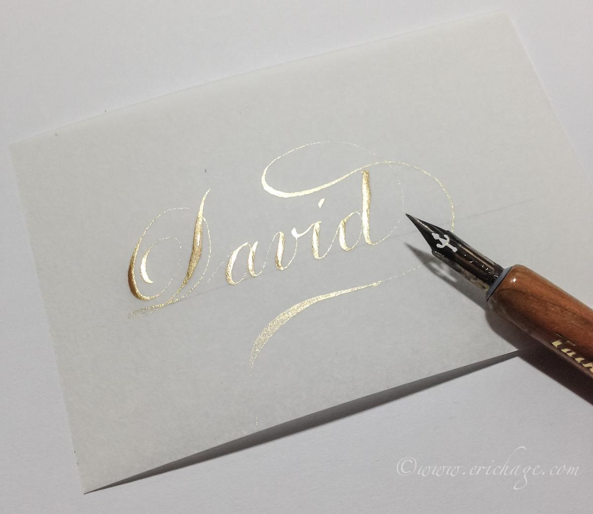 Namen kalligraferen